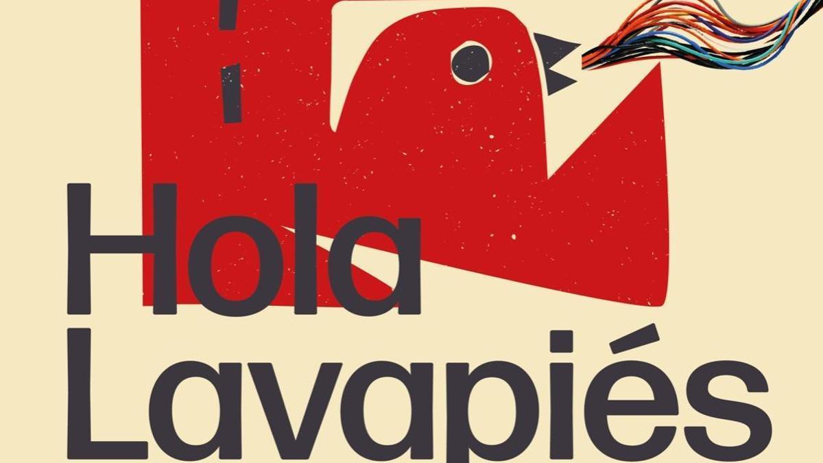 Cartel de 'Hola Lavapiés'