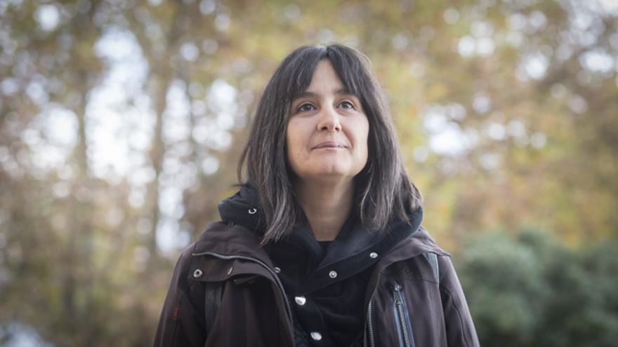 Lucía González-Mendiondo Carmona, el pasado viernes en Zaragoza.