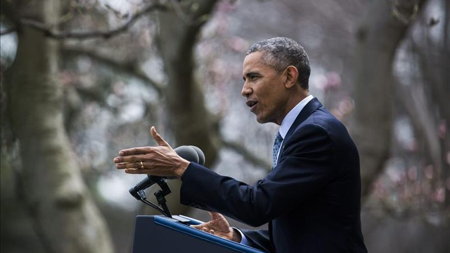 """Obama sobre el acuerdo contra el cambio climático de París: """"Esto es enorme"""""""