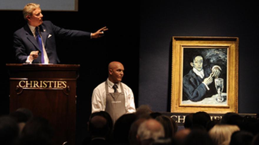 Cuadro de Picasso 'El bebedor de absenta'