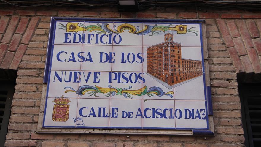 El refugio 'Pablo Iglesias' para los evacuados de guerra se instaló en lo que hoy es el emblemático edificio de los Nueve Pisos