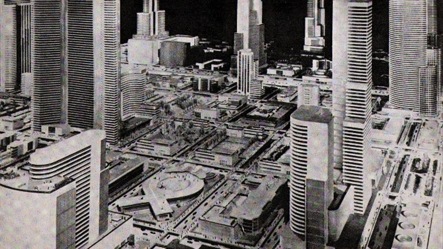 El mundo de 1960 se proyectó en una inmensa maqueta de 3.300 metros cuadrados