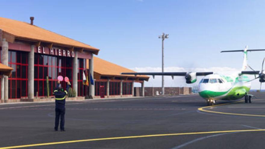 Aeropuerto de El Hierro   Aena.
