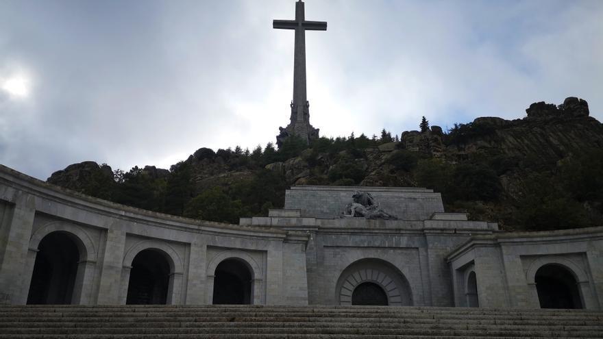 Plaza de la basílica del Valle de los Caídos | Foto: ALEJANDRO NAVARRO BUSTAMANTE