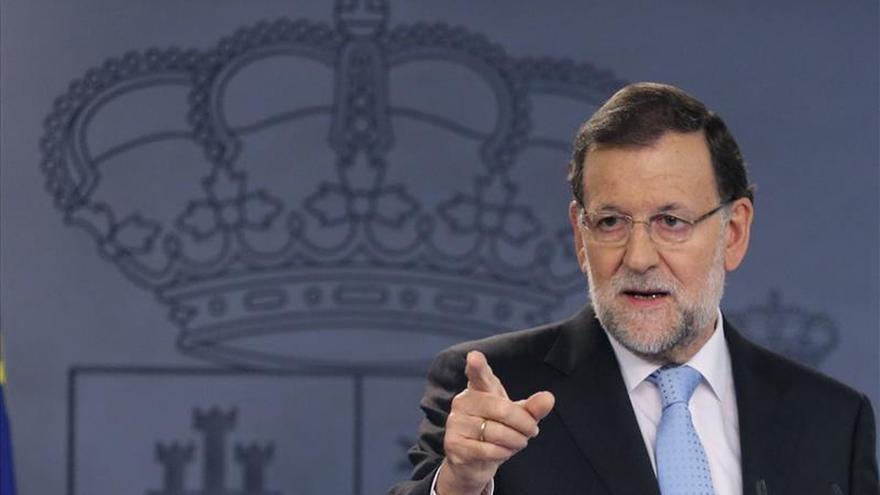 Rajoy hará una declaración en Moncloa esta mañana