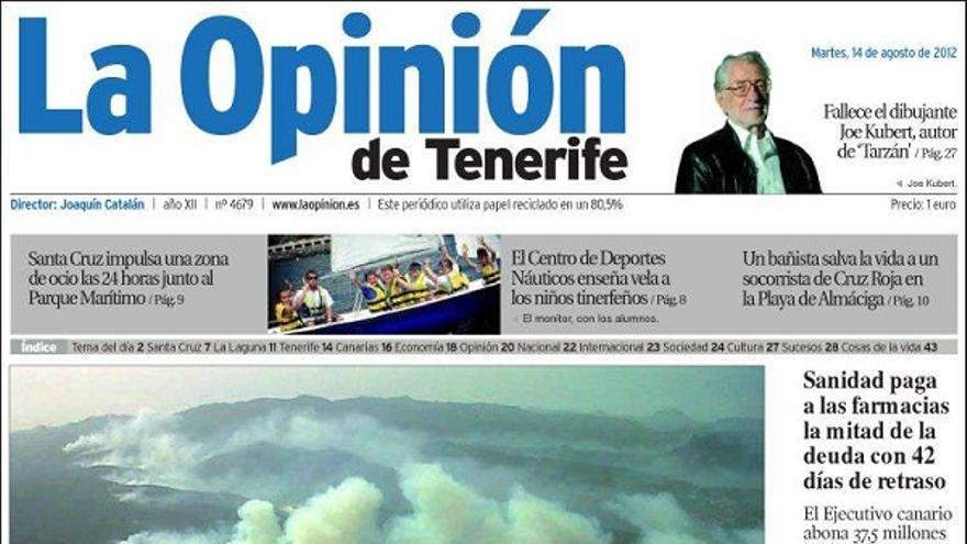 De las portadas del día (14/08/2012) #5