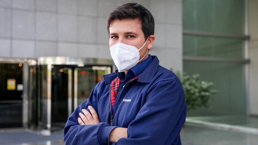 El 'número 2' en la lista de Más Madrid para las elecciones a la Asamblea de Madrid, Pablo Gómez Perpinyà