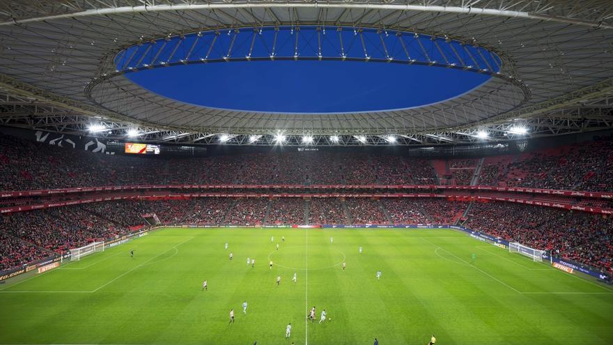 La nueva cubierta del estadio San Mamés, galardonada en los Structural Awards en Londres