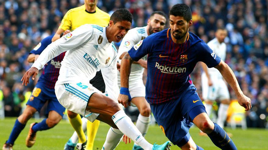 Real Madrid-Barcelona de Liga