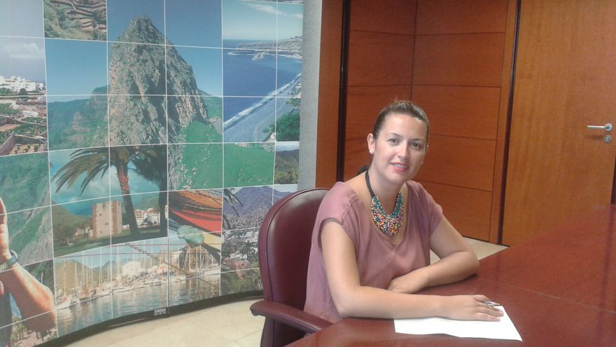 La consejera de Servicios Sociales del Cabildo, Silvia Padilla