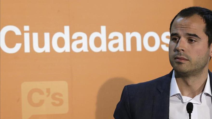 Ignacio Aguado, candidato de Ciudadanos a la presidencia de la Comunidad de Madrid.