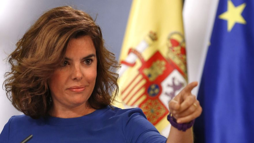 Sáenz Santamaría destaca ante Katainen la determinación de España con las reformas