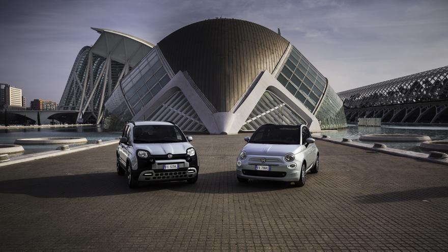 Fiat 500 y Fiat Panda, equipados con la tecnología Mild Hybrid de gasolina.