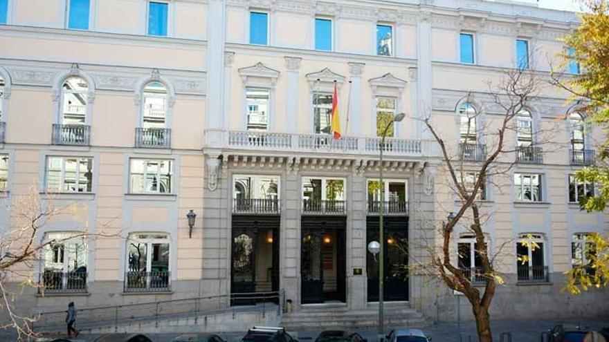 Sede del Consejo General de Poder Judicial (CGPJ) en Madrid