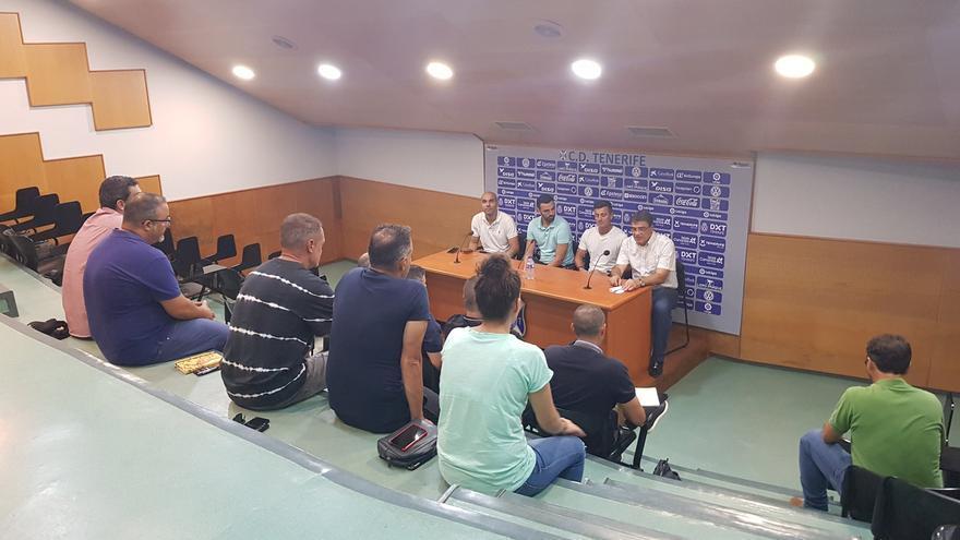 Imagen de la reunión de coordinación celebrada el lunes en el Heliodoro.