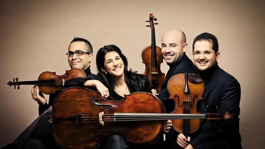 El Cuarteto Quiroga es una prestigiosa formación musical.