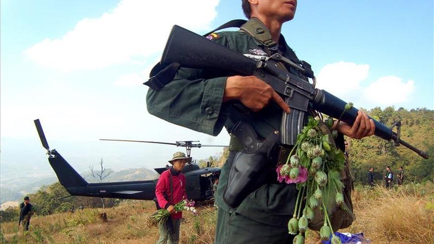 Birmania y Laos produjeron 823 millones de toneladas de opio, según la ONU