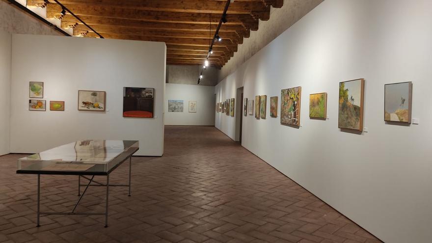 Exposición en Condestable del pintor pamplonés Luis Garrido.