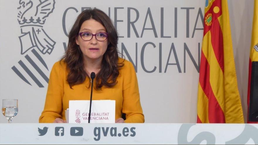 La vicepresidenta del Consell, Mónica Oltra