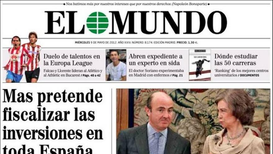 De las portadas del día (09/05/2012) #8