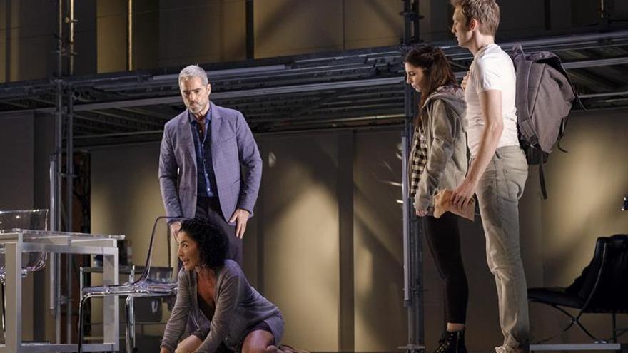 Ensayo del musical de Broadway 'Casi normales'