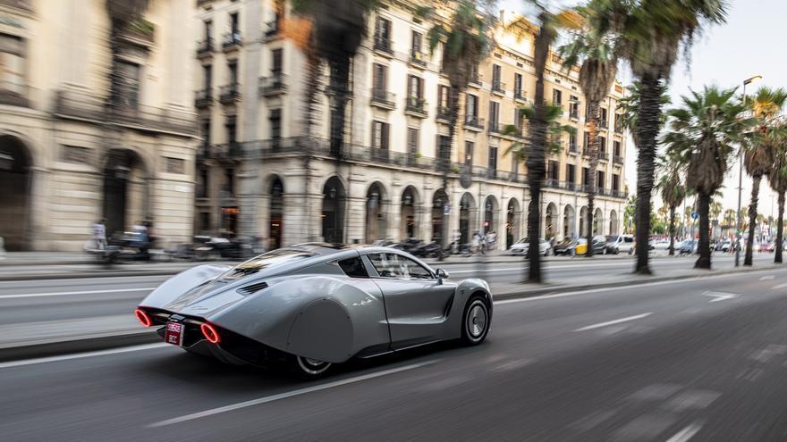 El Hispano Suiza Carmen, un superdeportivo enteramente eléctrico de 1.019 caballos.