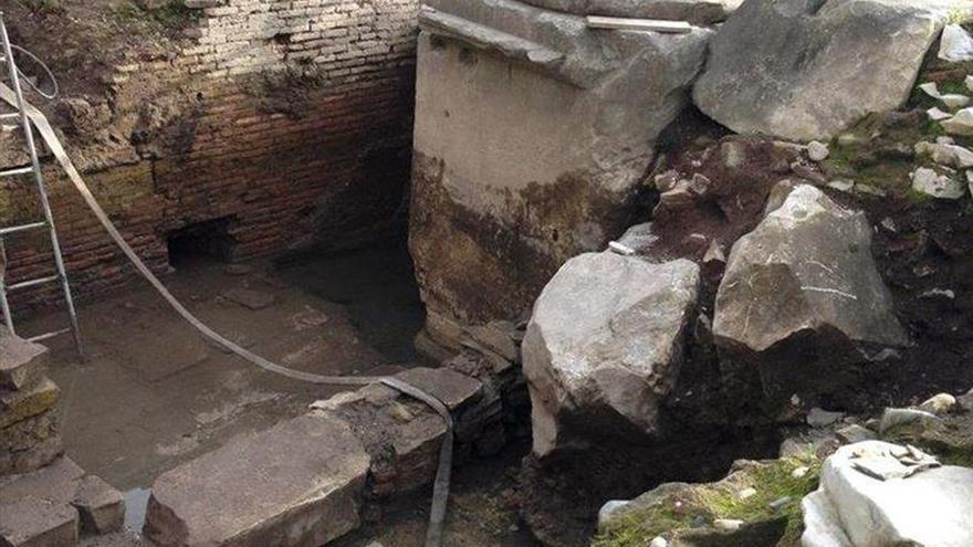Hallan en Roma los restos de un desaparecido arco en honor del emperador Tito
