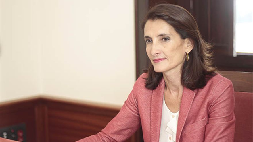 Mariate Lorenzo, consejera de Turismo del Gobierno de Canarias