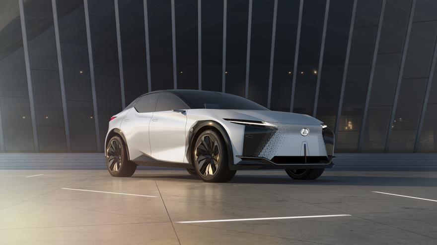 Los Lexus de 2025 tendrán la cara y las  entrañas de este prototipo, el LF-Z Electrified