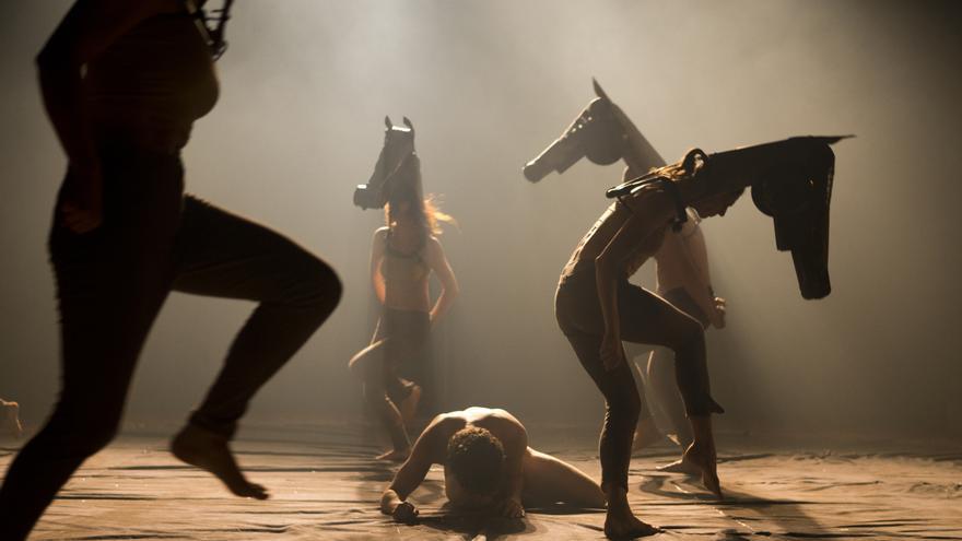 La Compañía Ferroviaria interpretará la obra Equus en esta edición de Dferia.