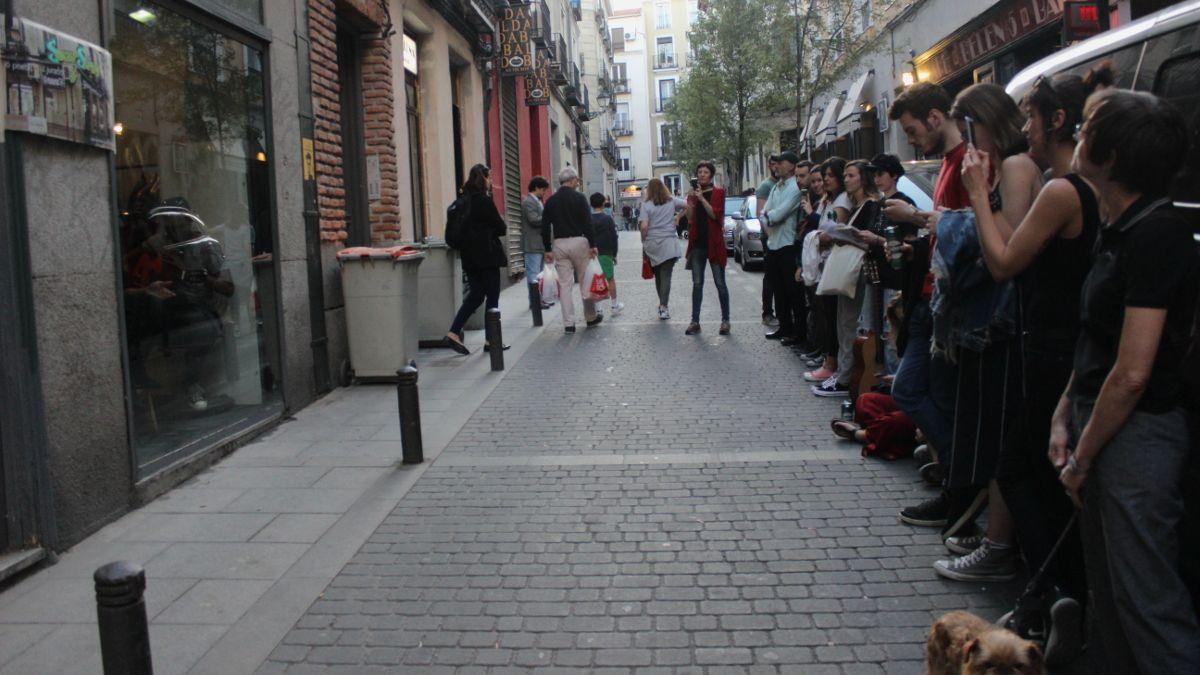Público del I Sucioslam de la Pelubrería | SOMOS CHUECA
