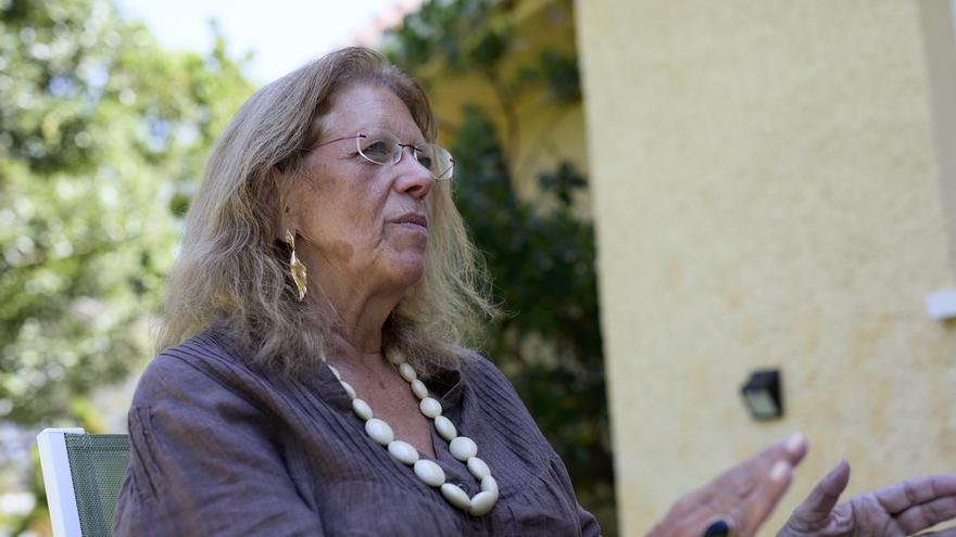 La vicesecretaria de Sectorial del PP, Elvira Rodríguez, durante una entrevista con Europa Press.