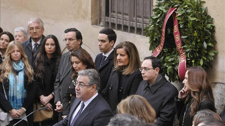 Jiménez-Becerril asegura que quienes apoyan a ETA nunca debieron entrar en instituciones