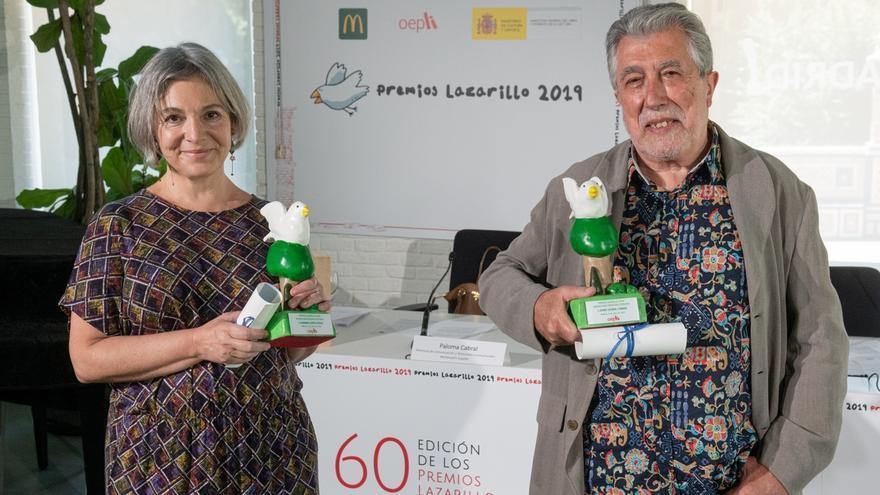 Carmen López y Jordi Sierra son los ganadores de la edición número sesenta del Premio Lazarillo.