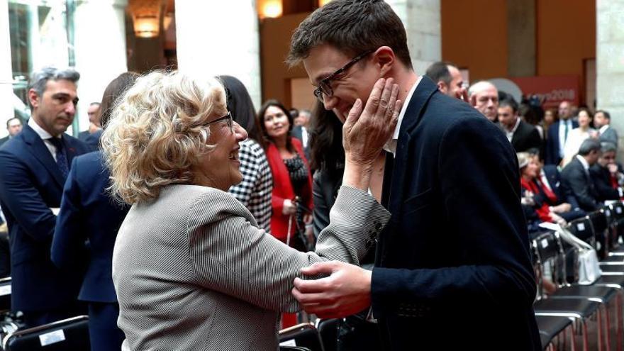 Errejón irá a las elecciones con las siglas de Carmena, no con las de Podemos