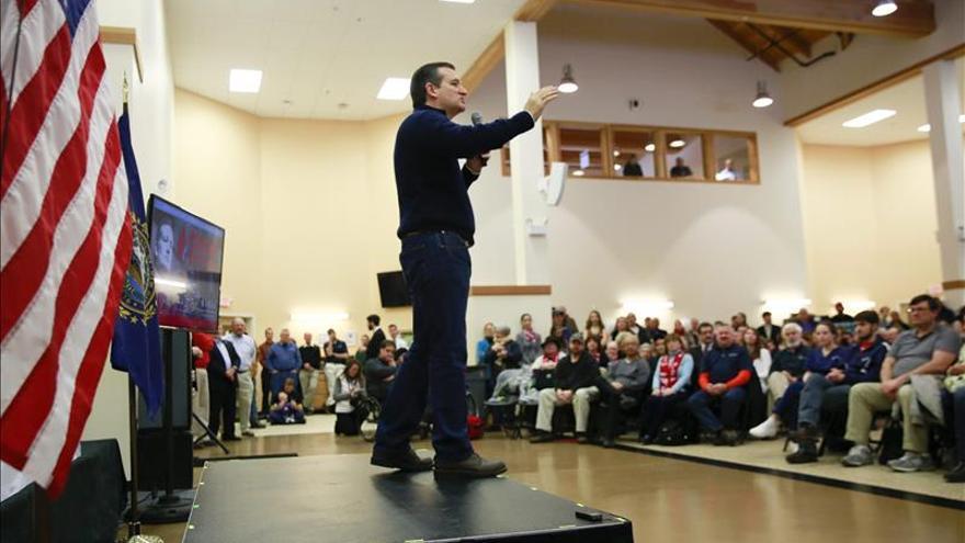 Demócratas y republicanos cierran campaña en New Hampshire con grandes actos