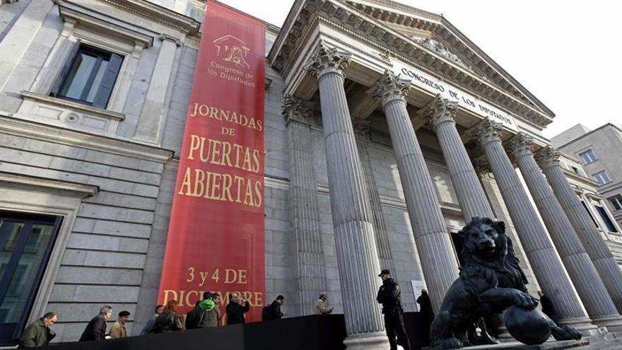 El Congreso abre mañana sus puertas por el día de la Constitución