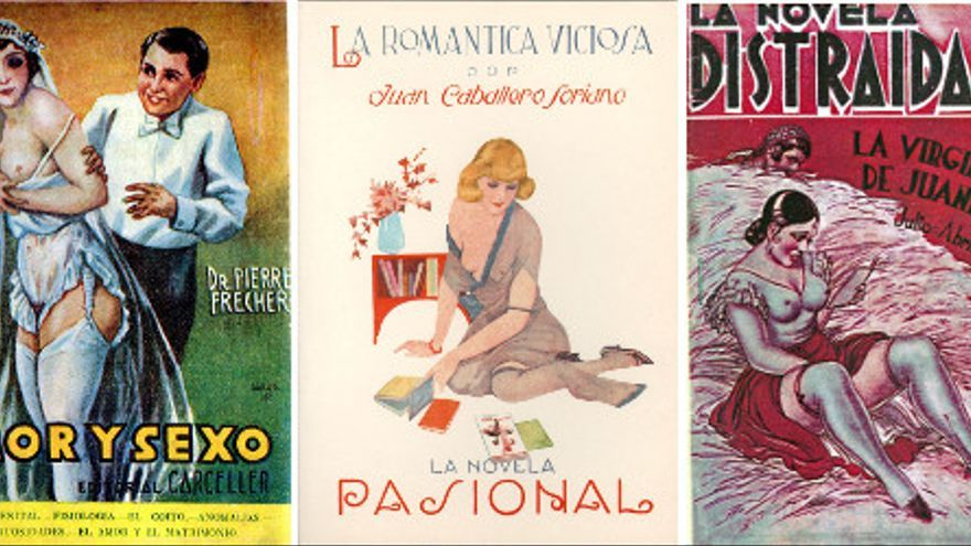 Novelas licenciosas de la España juguetona