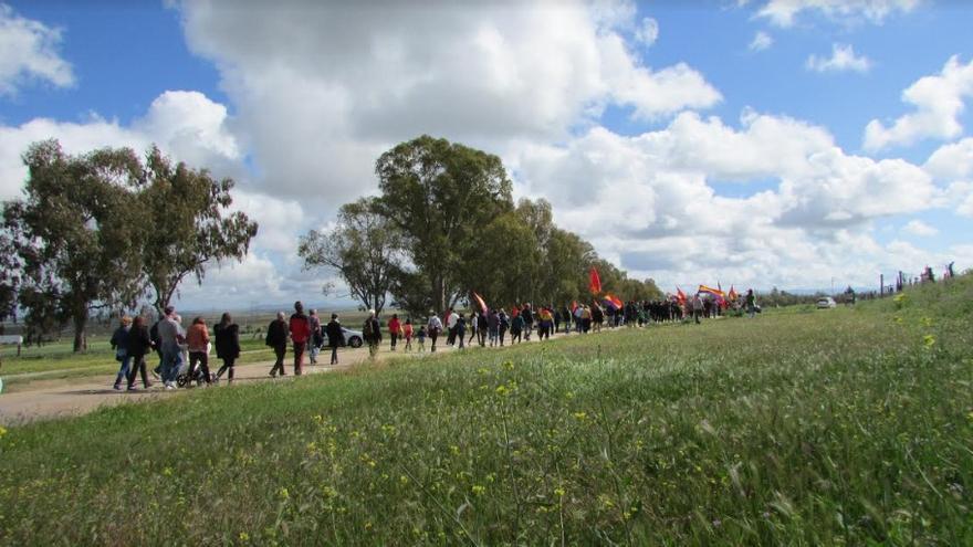 Marcha al campo de concentración de Castuera