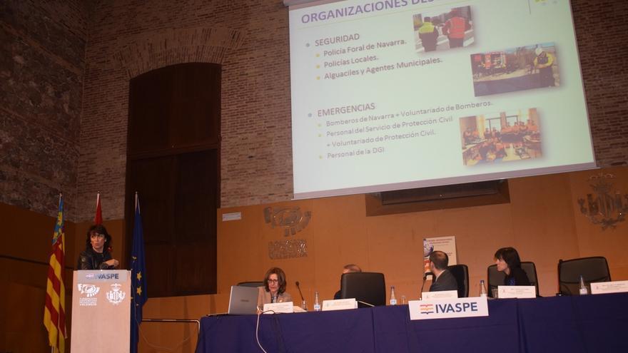 Navarra presenta su sistema de formación de policías en un congreso internacional celebrado en Valencia