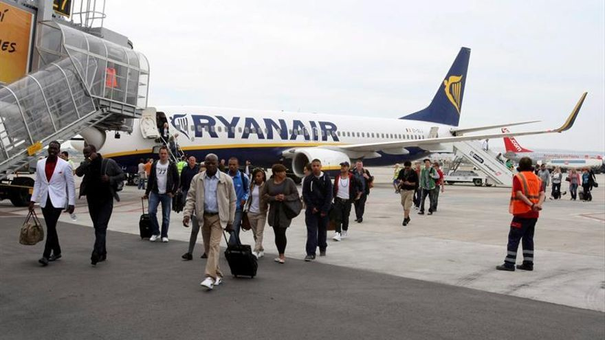 Ryanair aumentó un 10 por ciento su tráfico de pasajeros en abril