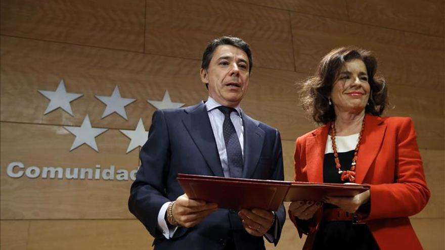 Ignacio González y Ana Botella en una foto de archivo