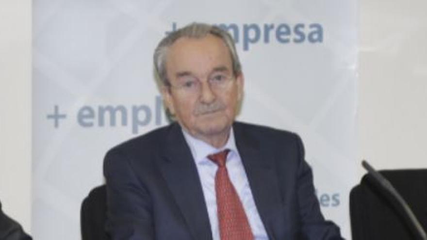 José Roca, expresidente de la patronal castellonense, se aprobó avales de la SGR para sí mismo.