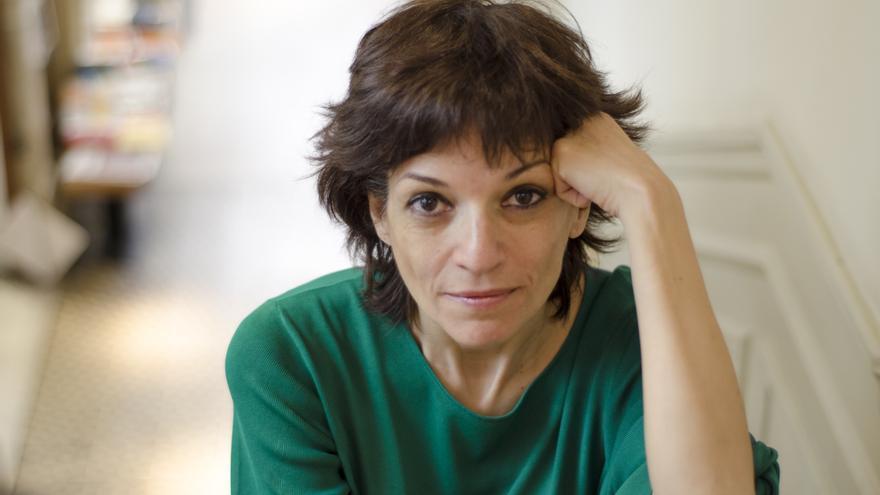 """Paloma Bravo, autora de la novela """"Solos"""" \ Foto: Alejandro Navarro Bustamante"""