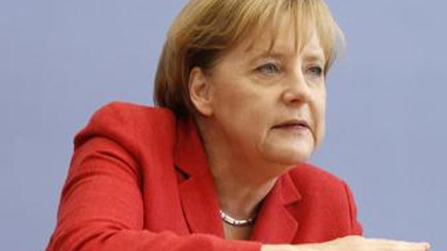 La canciller alemana, Angela Merkel. (EP)