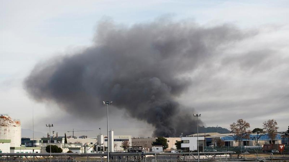 Incendio en Montornès