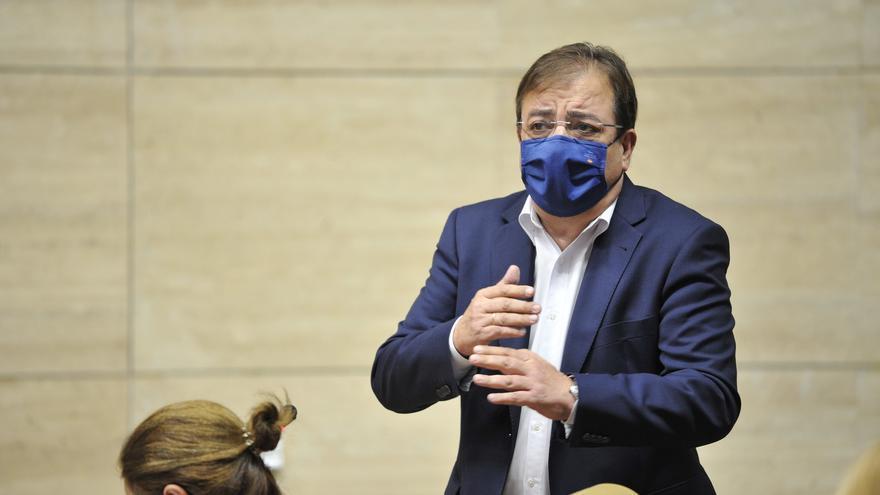 Guillermo Fernández Vara en la Asamblea.