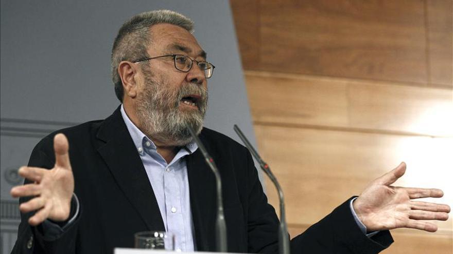 """Méndez (UGT) avisa de que """"si decaen los convenios sería un drama para millones de familias"""""""