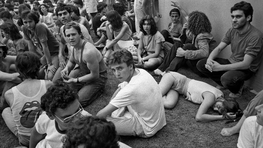 En los 70, el hachis comienza a sustituir a la marihuana