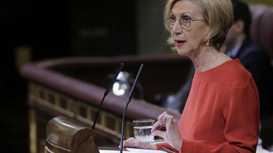 """Rosa Díez ha visto muy bien a Rajoy, en su papel de mentir """"todo el rato"""""""